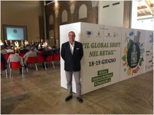 Il Presidente Assofrigoristi Gianluca de Giovanni  al Green Retail Forum & Expo